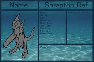 Shrapton Ref Template by RobinRyuu