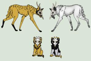 Daedramora pup litter - Closed - Auction by RobinRyuu