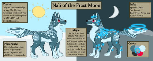 Nali of the Frost Moon by RobinRyuu