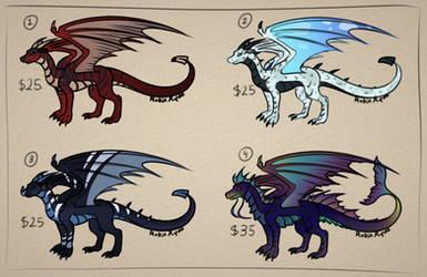 Dragon Adopts - 4/4 Open - Set Price