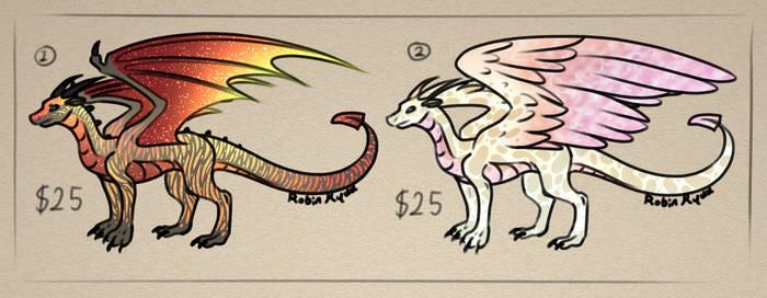 Dragon Adopts - 2/2 Open - Set Price