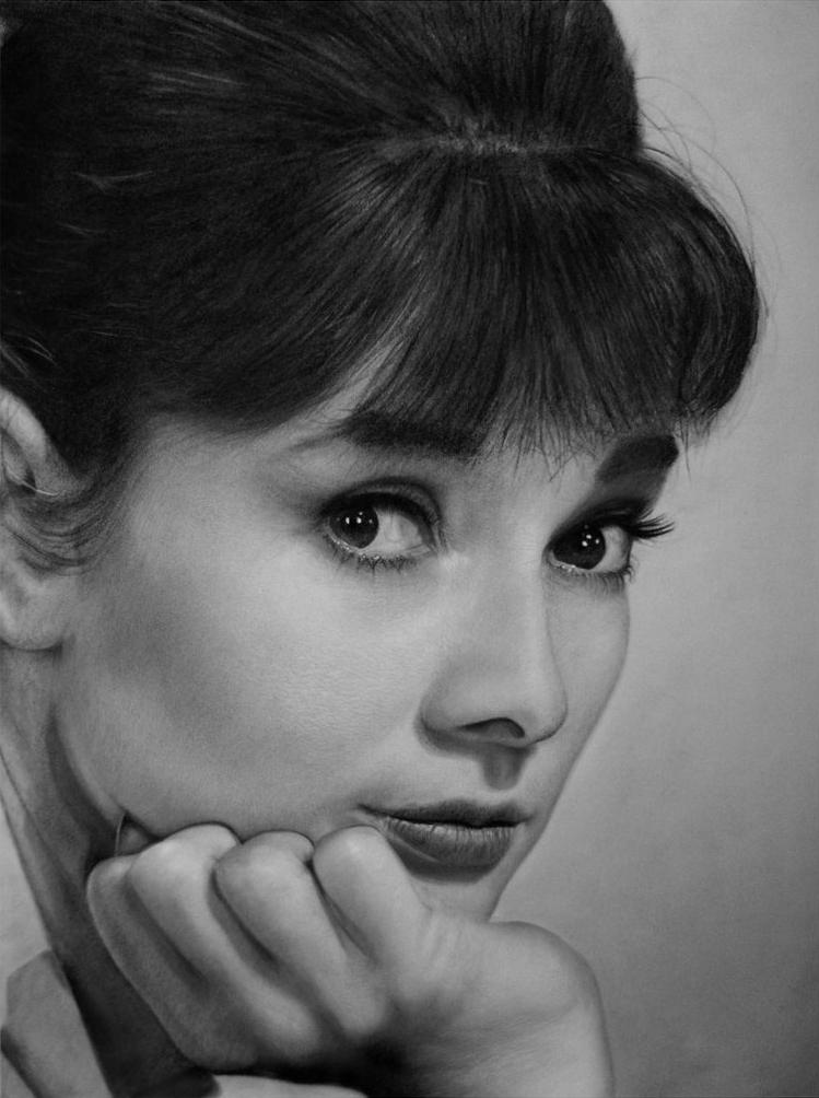 Audrey Hepburn 3 by MVVR