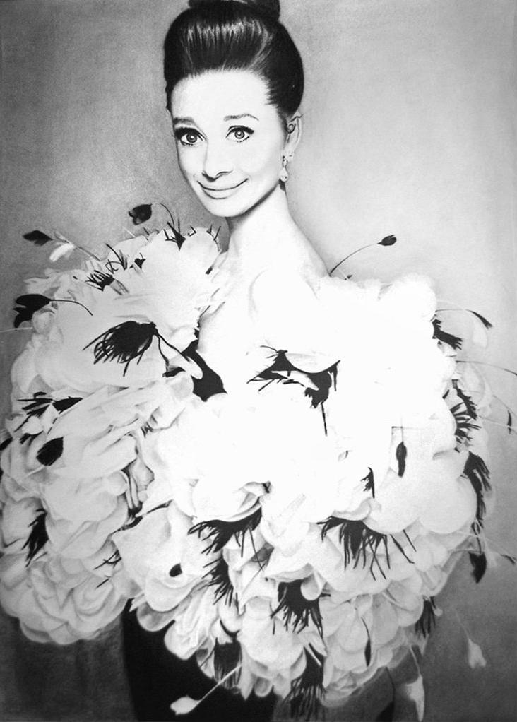 Audrey Hepburn 4 by MVVR
