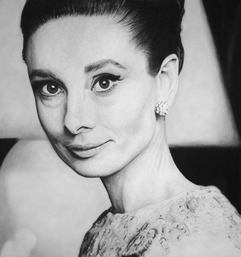Audrey Hepburn 5 by MVVR