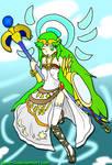 Palutena, The Goddess of Light by Xero-J