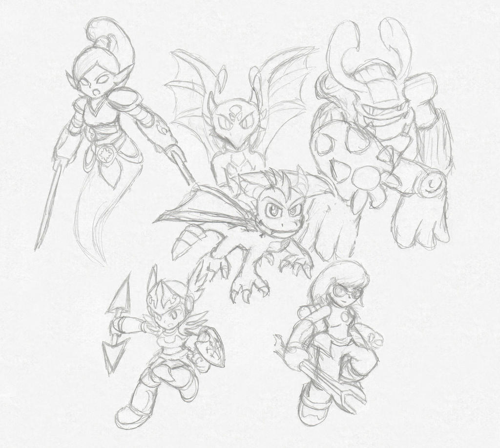 skylanders giants lp poster request sketch by xero j