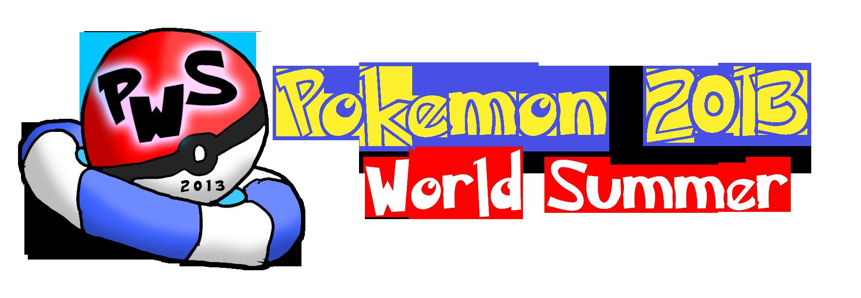 Pokemon World Summer 2013 Logo by Xero-J