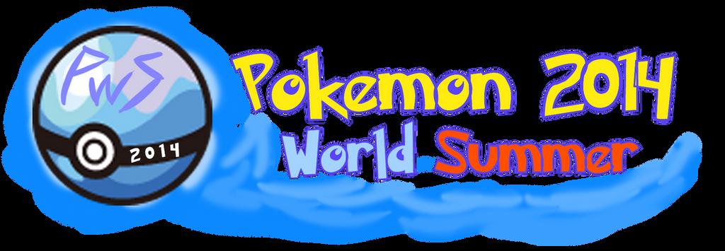Pokemon World Summer 2014 Logo by Xero-J