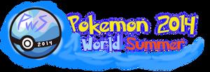 Pokemon World Summer 2014 Logo