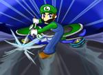Luigi: Power Slide