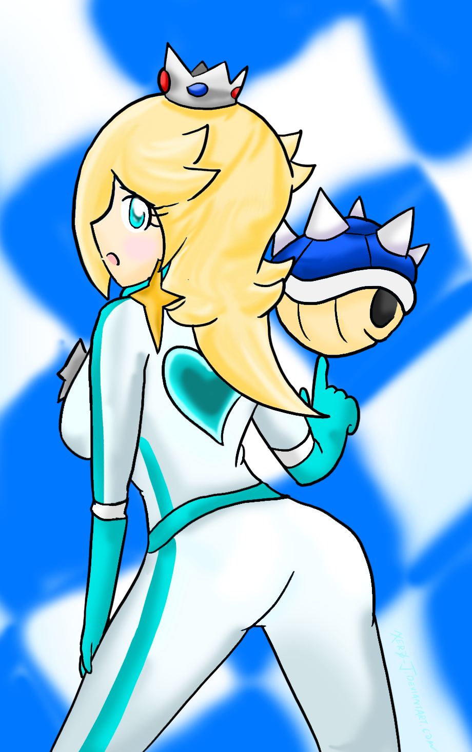 from Arian mario kissing rosalina porn