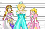 Princess Height Problems ~Request~
