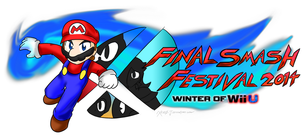 Final Smash Festival 2014 Logo :Winter of Wii U: by Xero-J