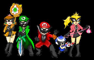 Wonderful Mario Bros. by Xero-J