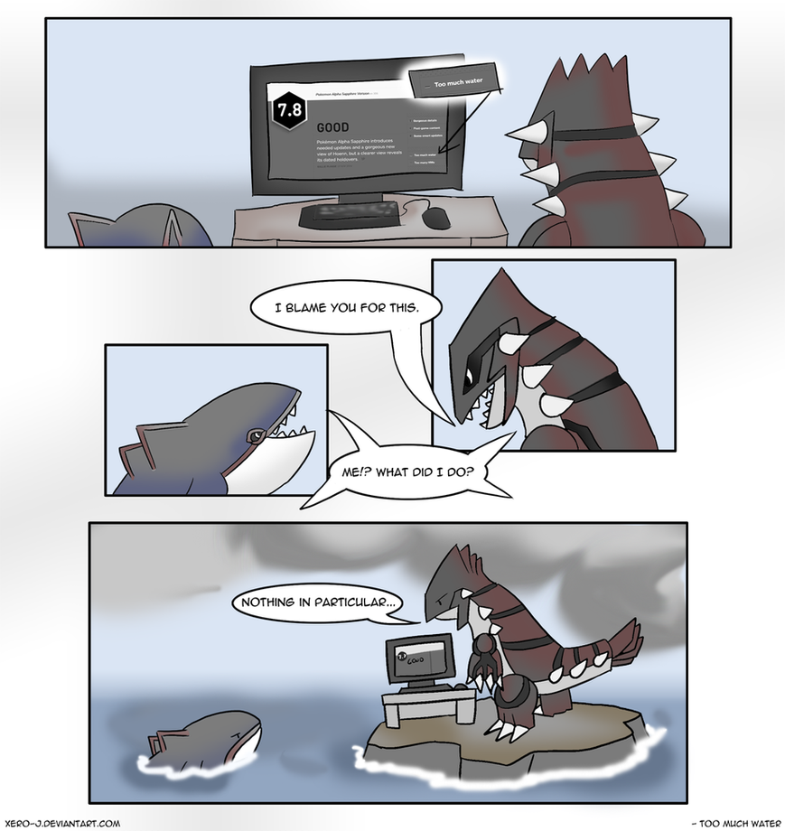 Too Much Water Mini Comic By Xero J On Deviantart