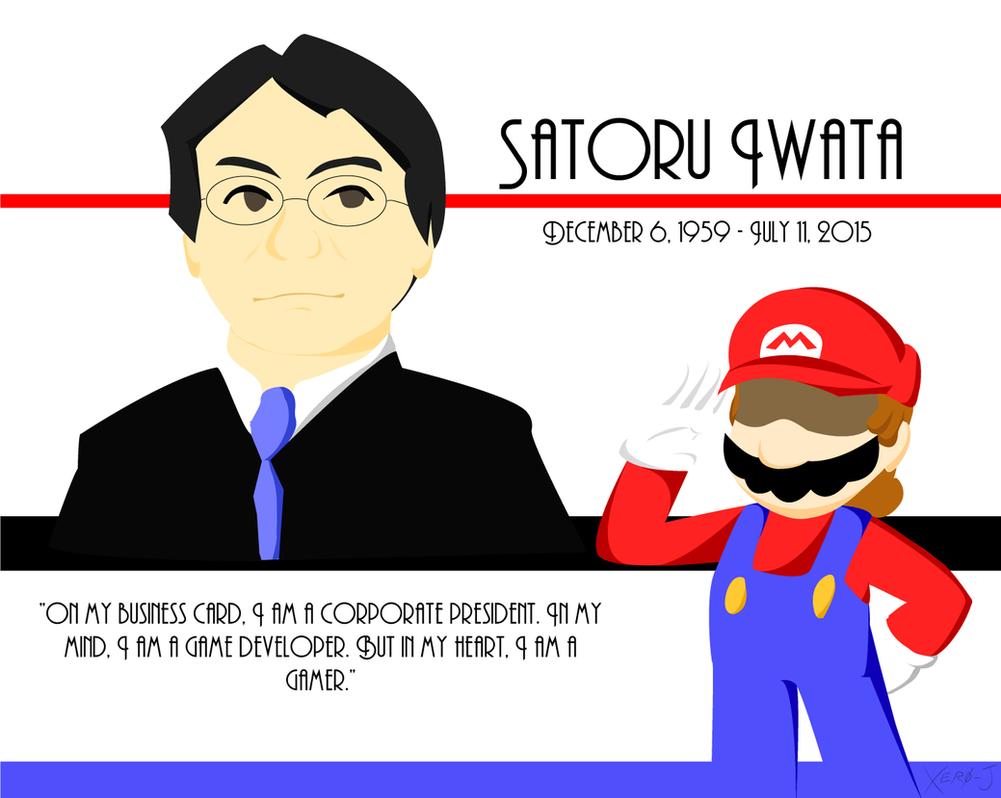 Farewell, Mr. Iwata by Xero-J
