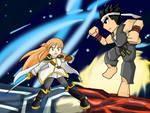 Fighting Climax! Asuna VS Akira