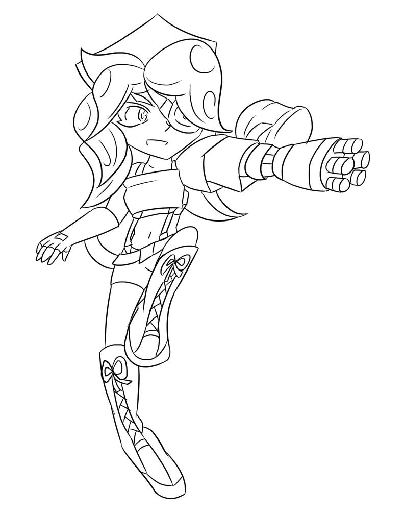 Splatoon Coloring Pages Coloring Pages