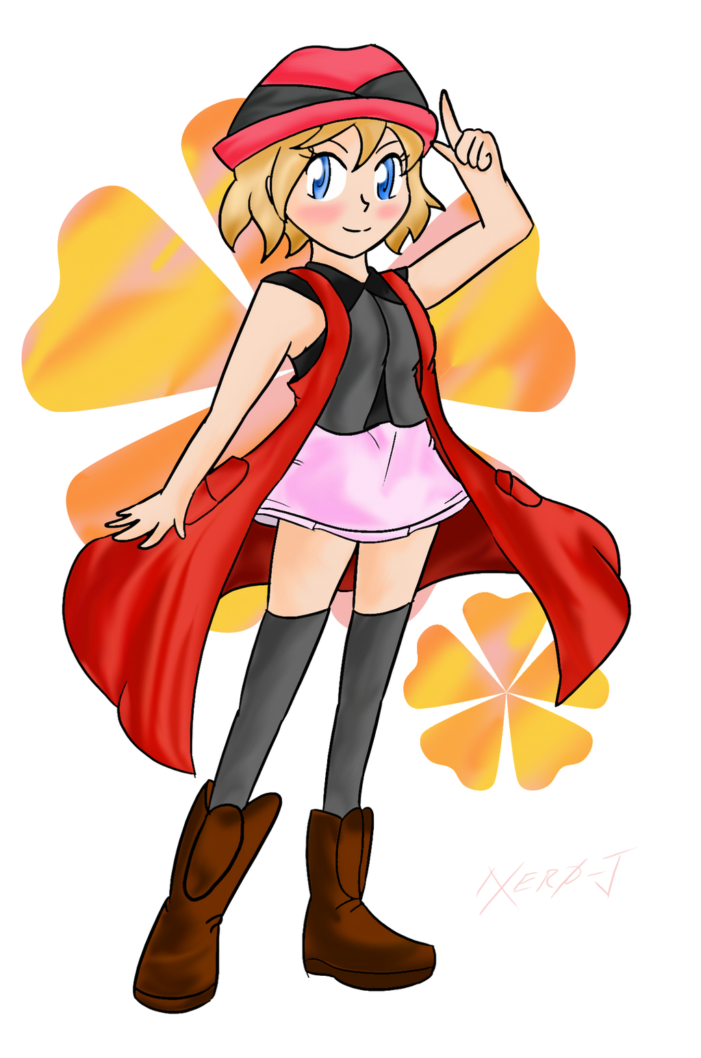Serena Nouveau ~Commission~ by Xero-J