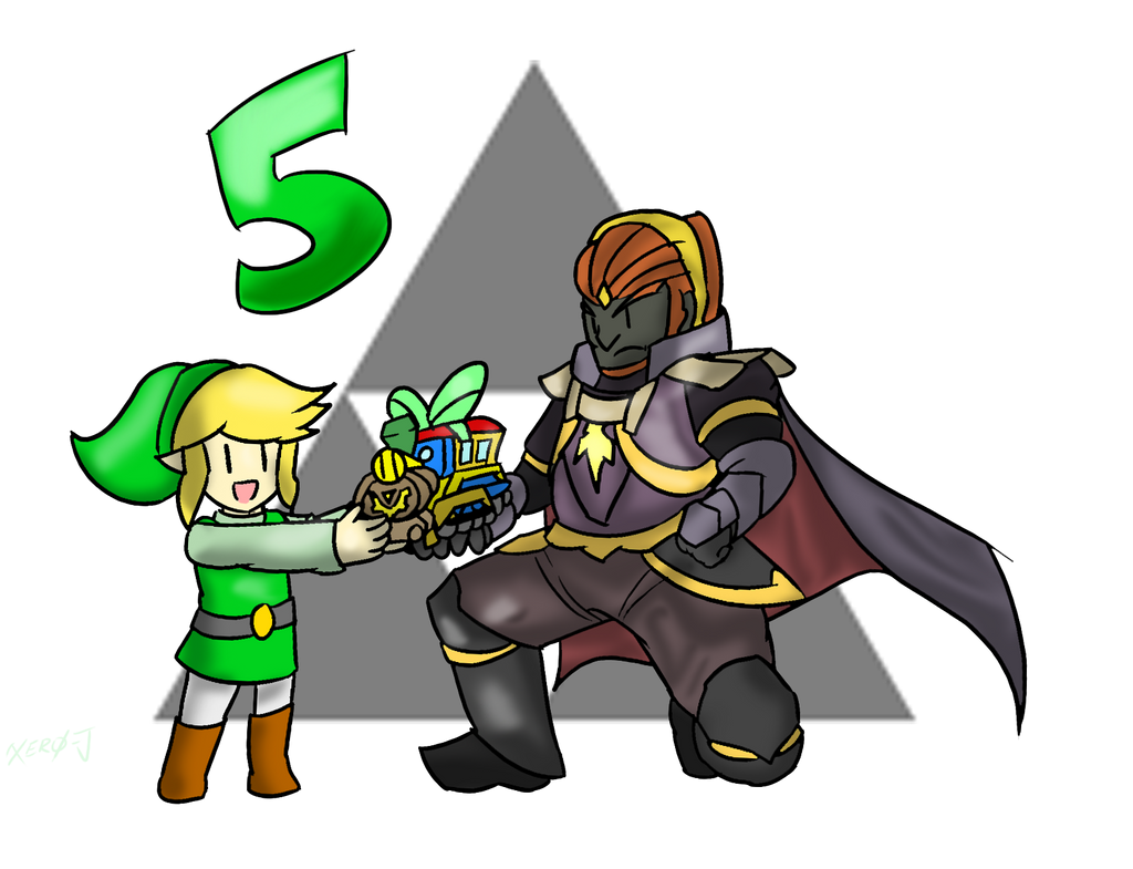 Smash Advent no.5: Toon Link and Ganondorf by Xero-J on ...