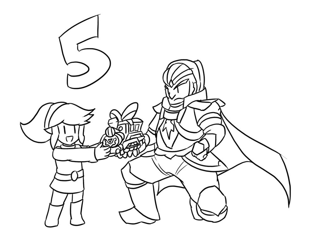 ganondorf coloring pages - photo#22