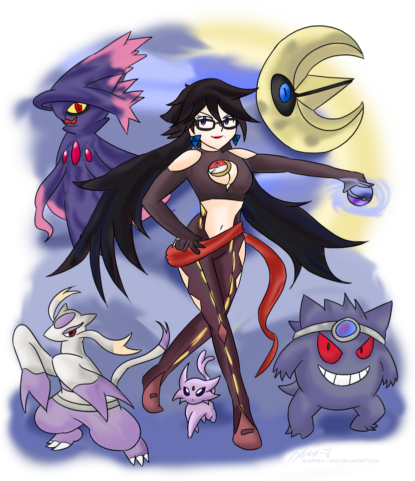 Umbran Leader Bayonetta ~Commission~ by Xero-J