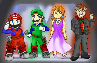 Super Mario Bros.: The Movie by Xero-J