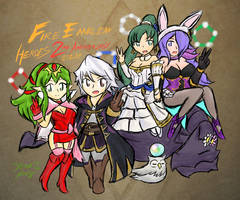 Fire Emblem Heroes: 2nd Anniversary by Xero-J