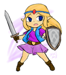 Zelda: Toon of Gamelon
