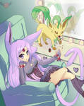 PokeShipping: Espeon and Leafeon!!