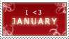 January by AraulsStamps