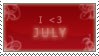 July by AraulsStamps