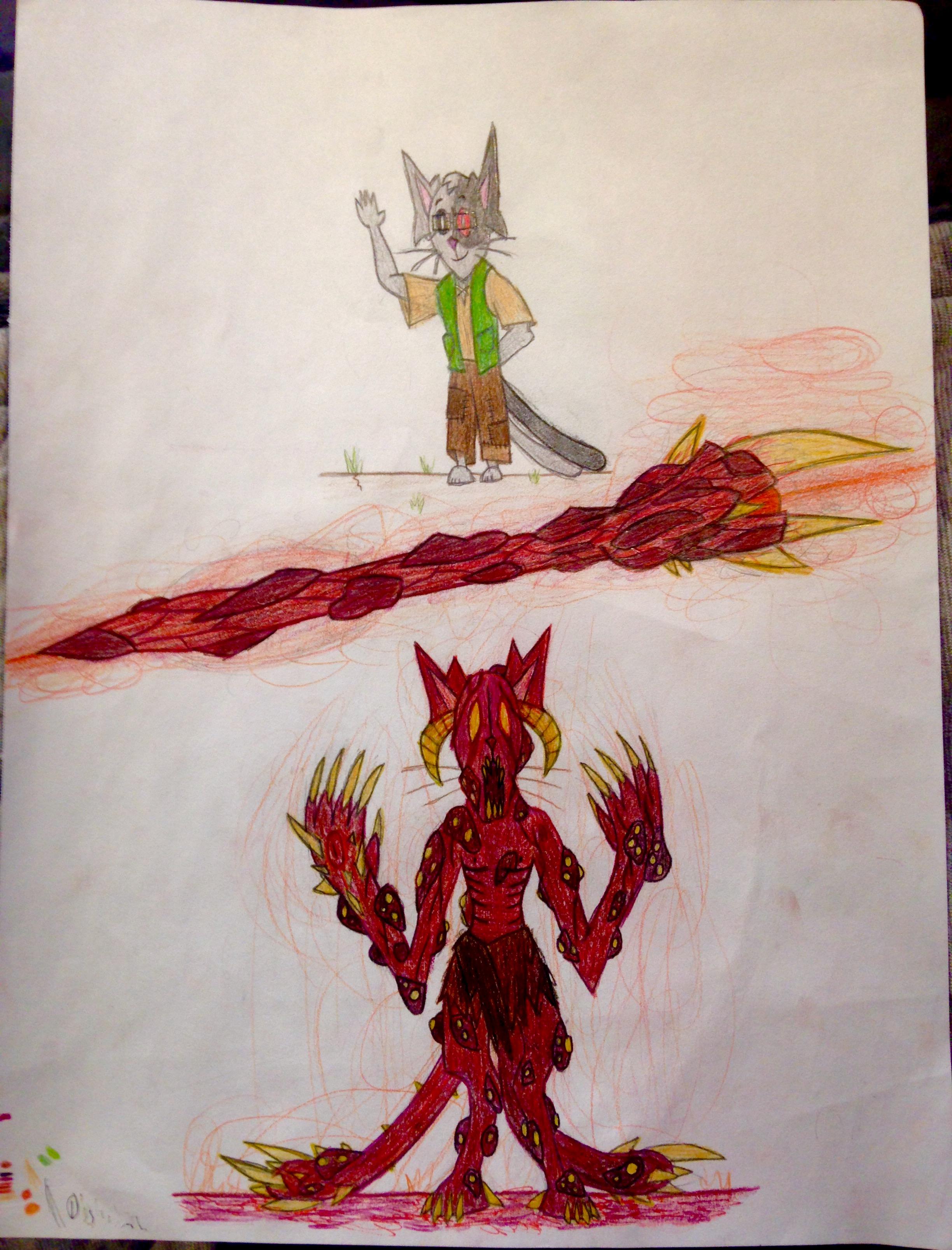 Monster by PlasmaDragonite