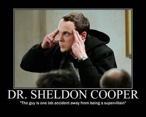 Dr. Sheldon Cooper 'the guy'