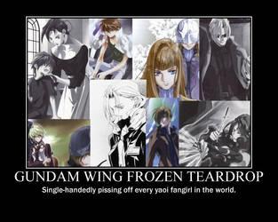 Gundam Wing Frozen Teardrop by saki-senpai