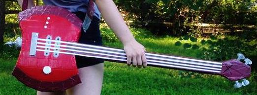 Bass Axe by SteelOsprei