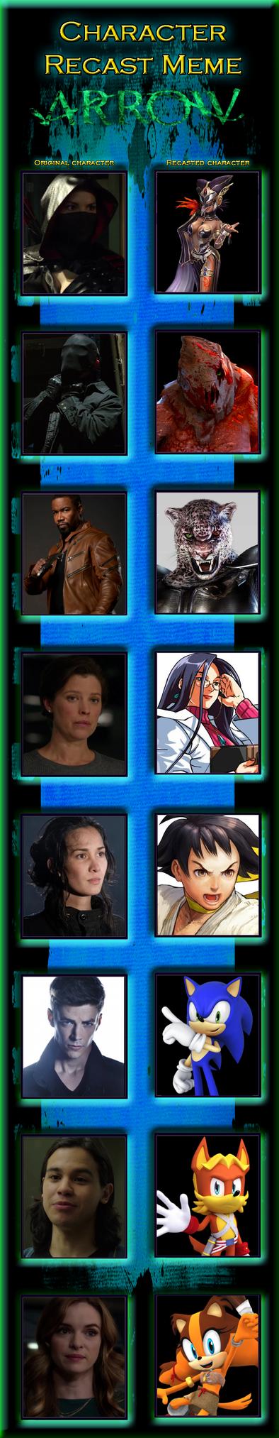 AV: Arrow Season 2 Recast Memes Part 8 by DeadSkullable