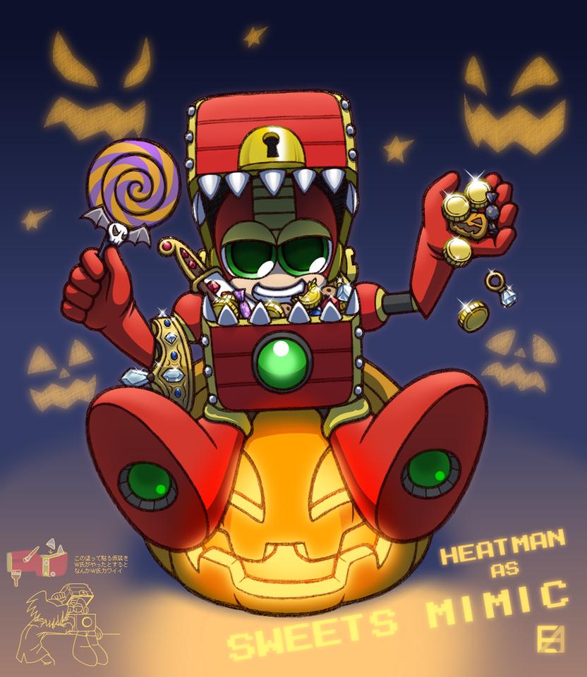 Halloween 2017 HEATMAN by EAMZE