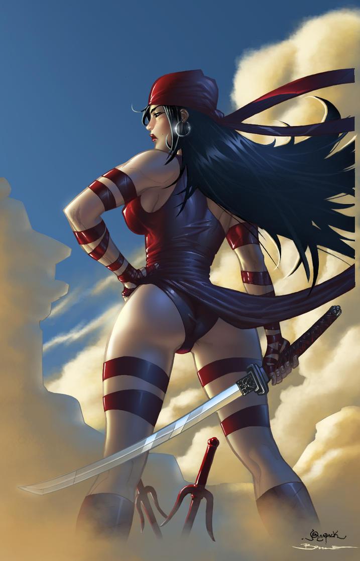 Elektra by ShinobiXXX