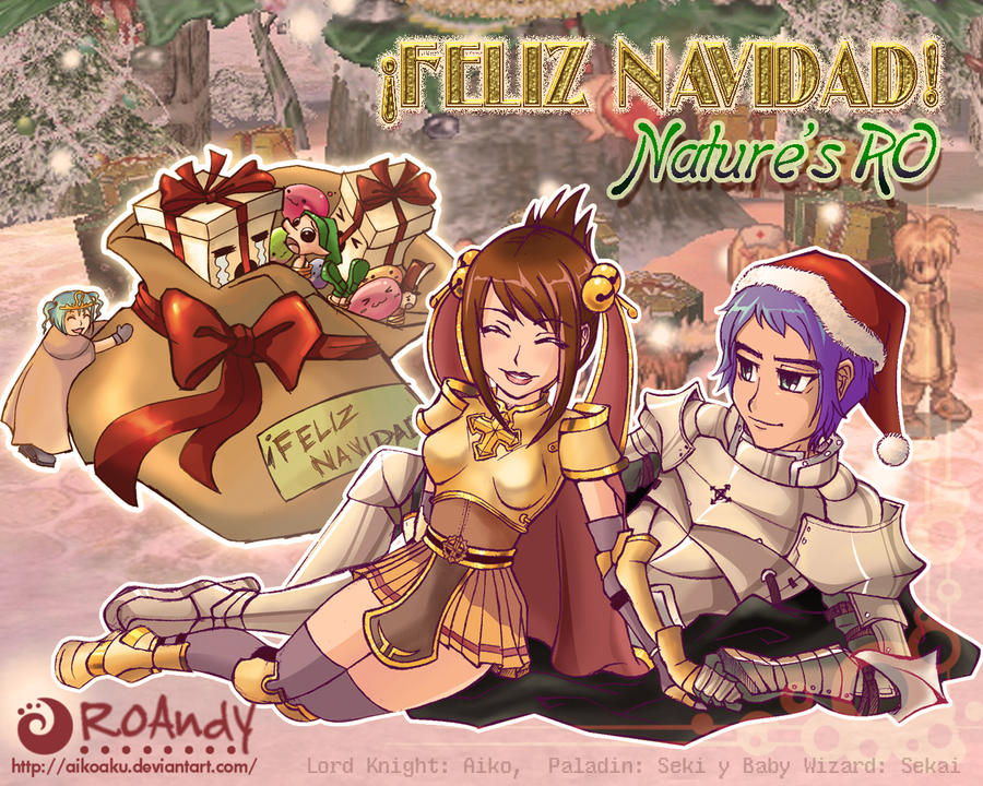 RO Feliz Navidad  Merry Xmas by Aikoaku