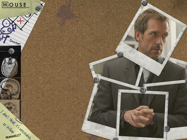 house md wallpapers. House MD Wallpaper - Pinboard