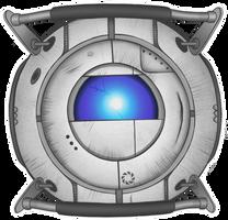 Portal 2 - Wheatley by hwshipper