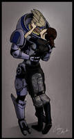 Mass Effect - One turian kind of woman