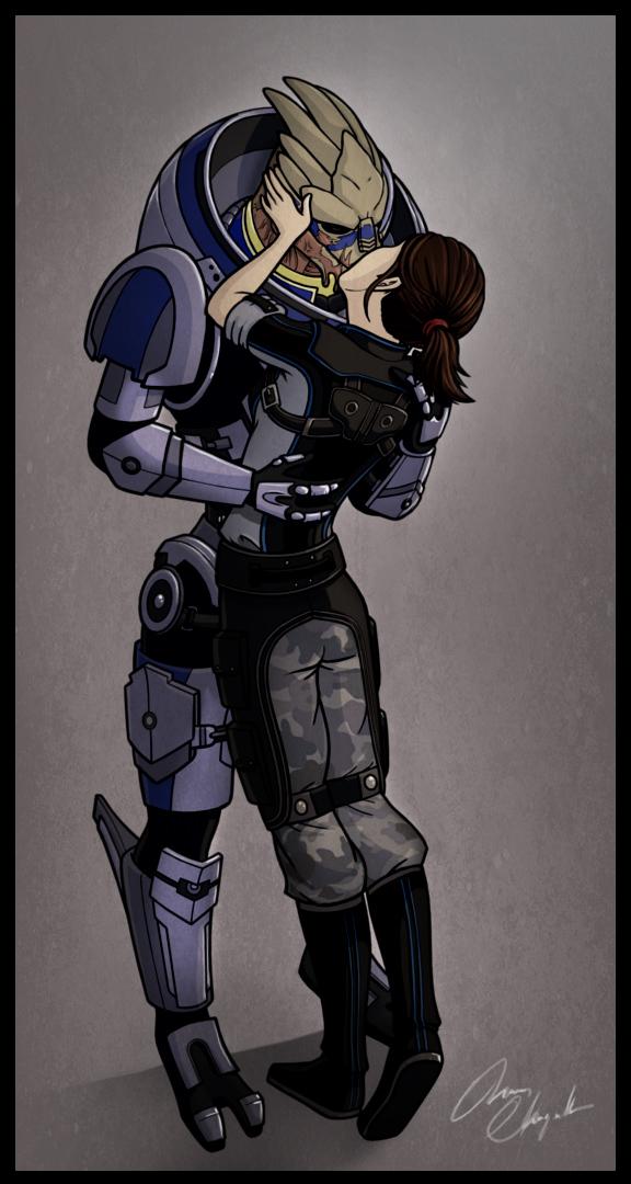 Mass Effect - One turian kind of woman