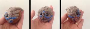 Garrus amigurumi - head in progress