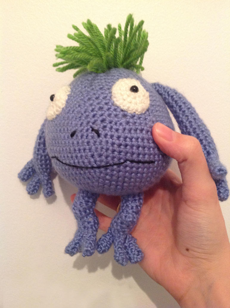 Chrono Trigger inspired amigurumi - Nu by ninjapoupon