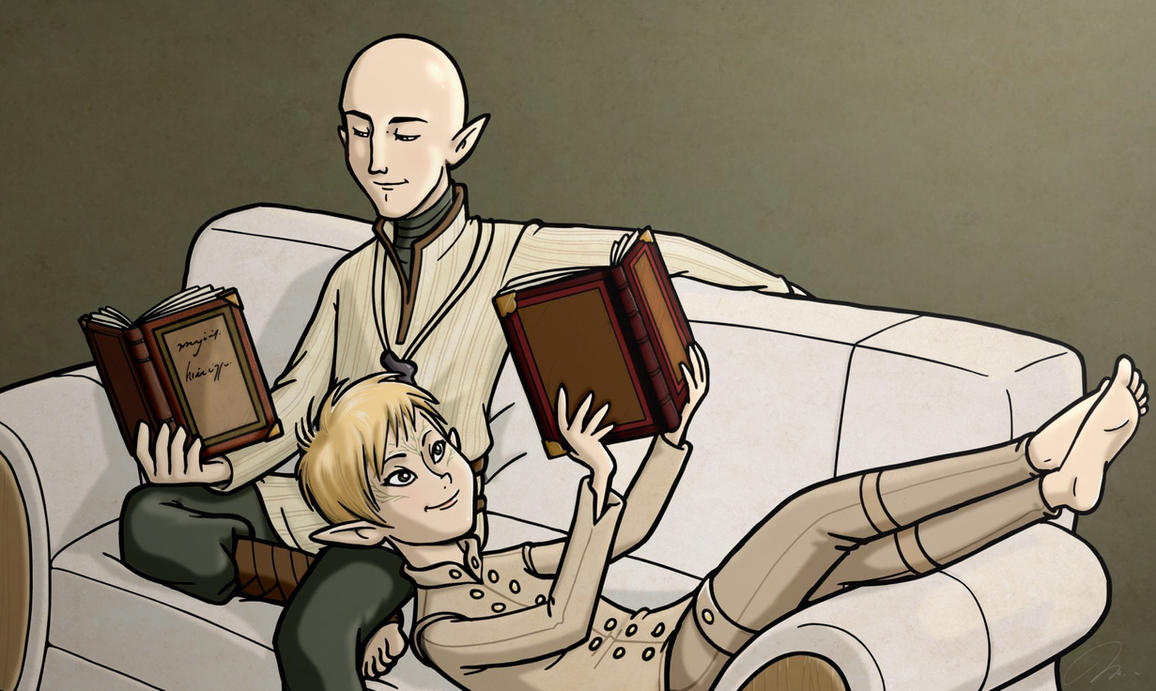 Solavellan - Moment of peace by ninjapoupon