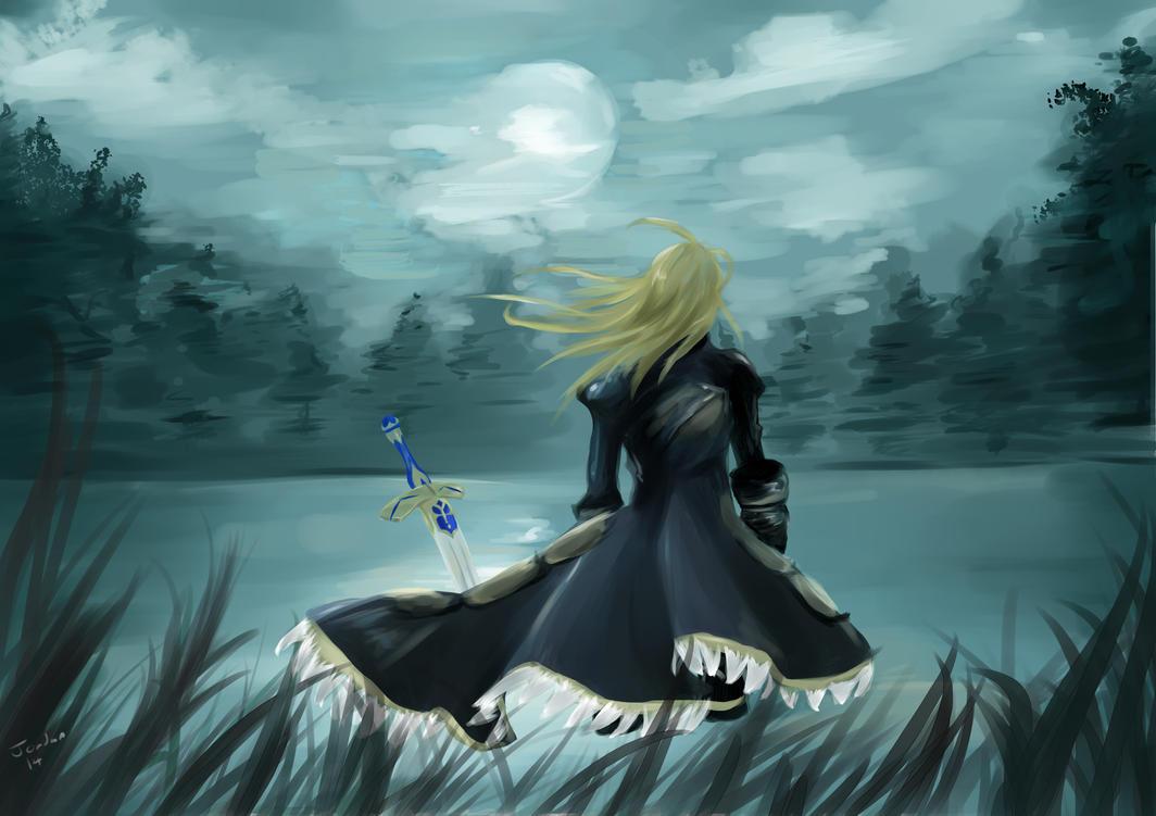 Fate Zero Saber by YurudanT
