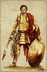 Rhapsody: Warrior archetype by dracolychee