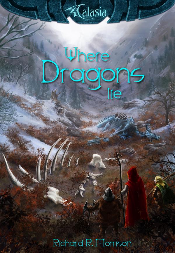 Where Dragons Lie book cover